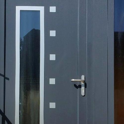 remplacement de porte d 39 entr e proximit de strasbourg. Black Bedroom Furniture Sets. Home Design Ideas