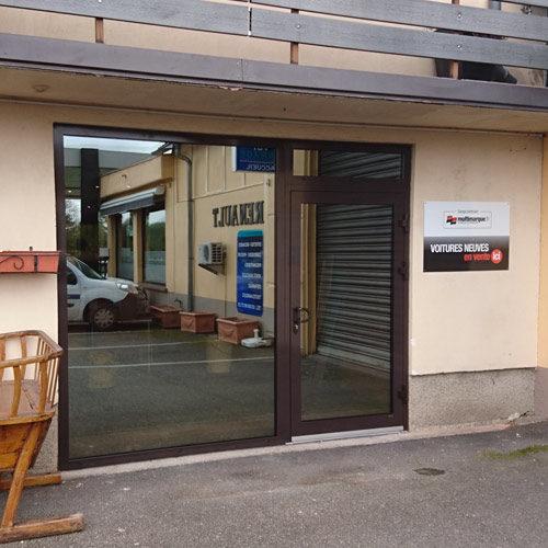 Remplacement d 39 une porte de garage par une baie vitr e - Remplacement d une porte de garage par une baie vitree ...
